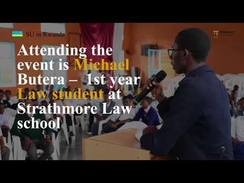 I would like to enhance the practice of Law in Rwanda - Michael Butera, SU scholarship recipient