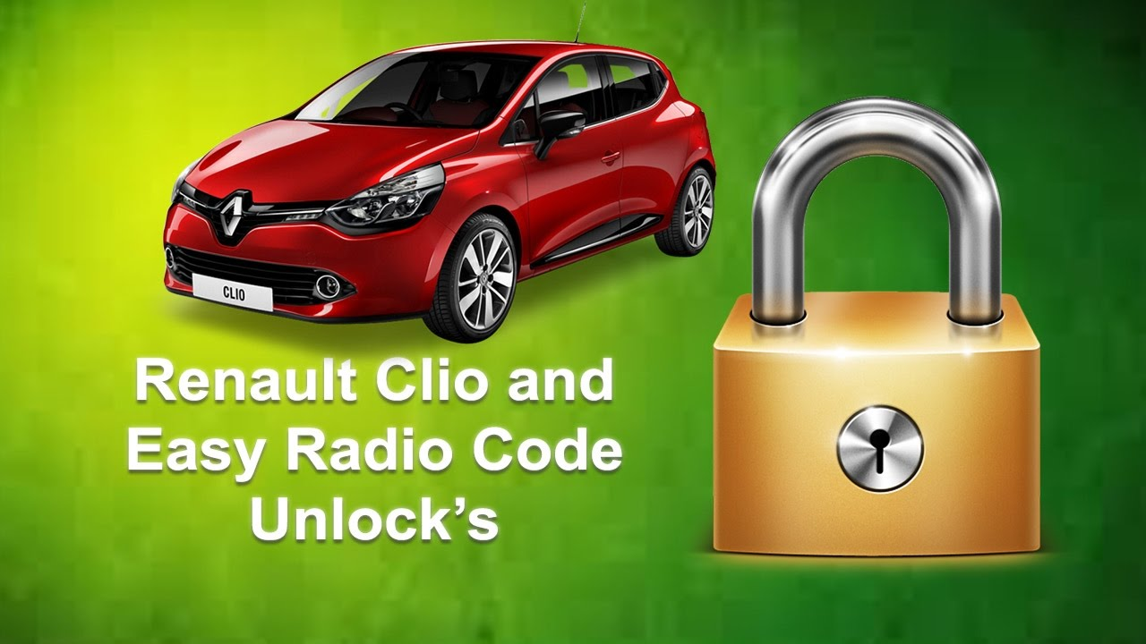 how to find renault clio radio code youtube. Black Bedroom Furniture Sets. Home Design Ideas