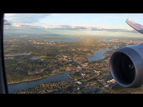 Ethiopian Airlines B787-8 Landing Stockholm Arlanda