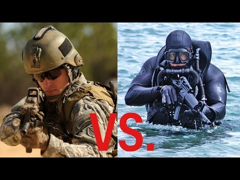 Thumbnail: These are the differences between the Green Berets and US Navy SEALs
