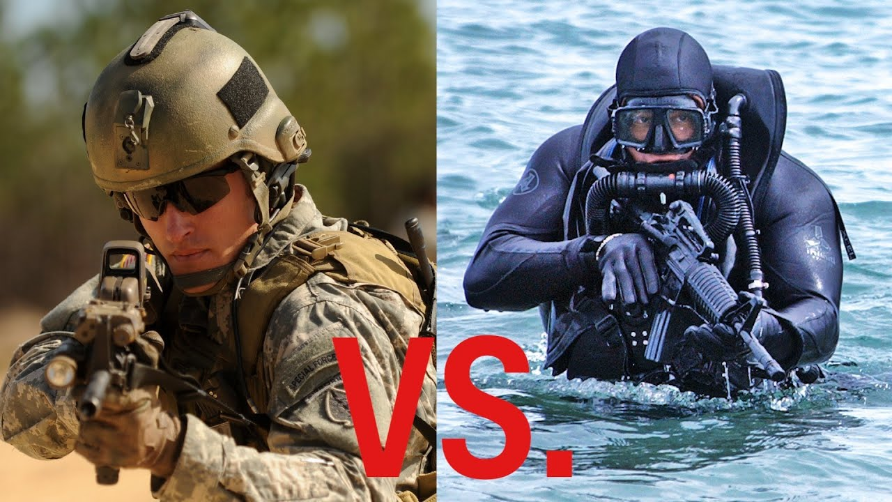 Differences Between The Green Berets And US Navy SEALs