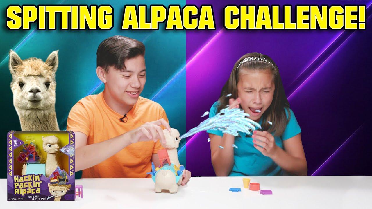 DONT GET SPRAYED!!! Hackin Packin Alpaca Challenge!
