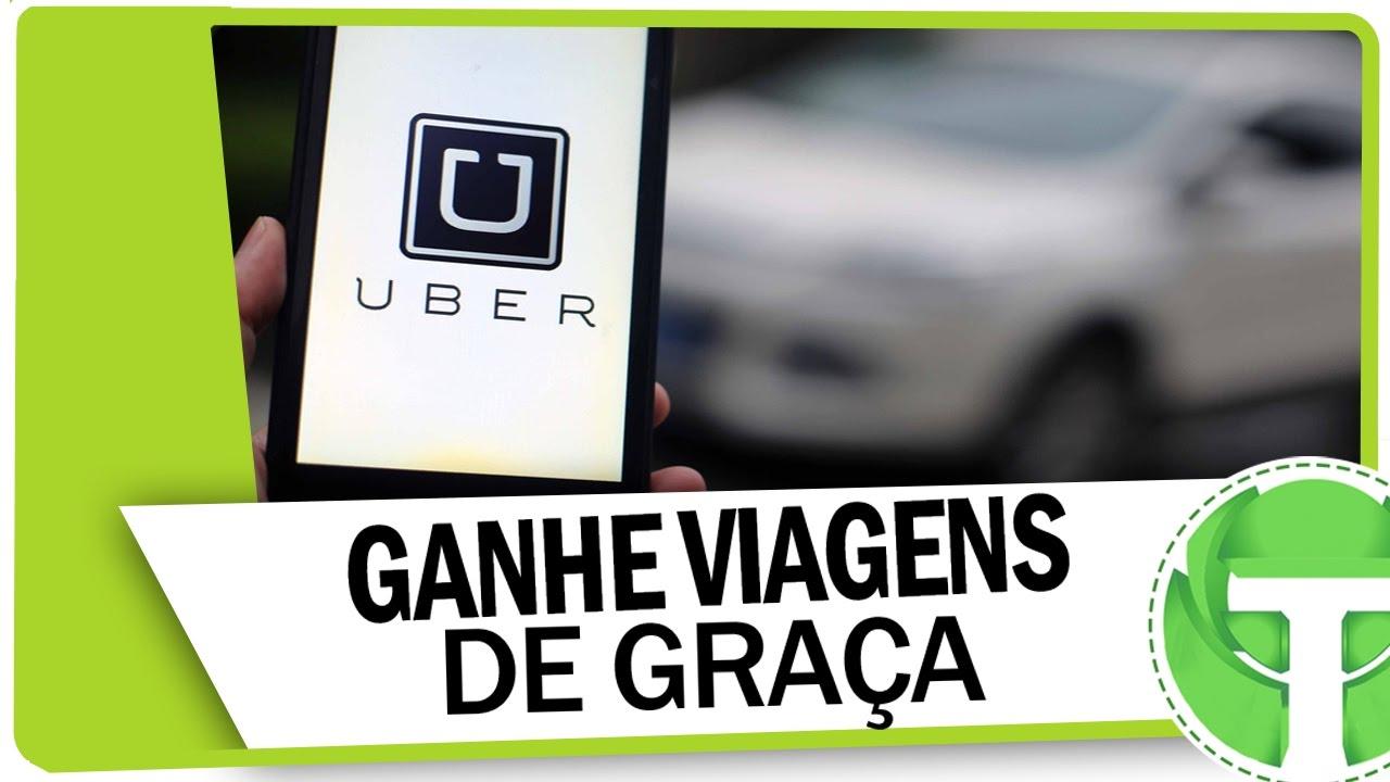 8ec6e47bd Como ganhar viagens de graça no Uber - YouTube