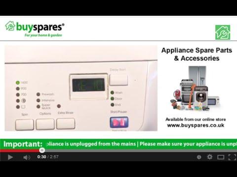 How to Identify Zanussi, AEG or John Lewis Washing Machine Error Codes