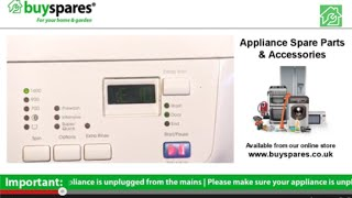 how to identify zanussi aeg or john lewis washing machine error codes
