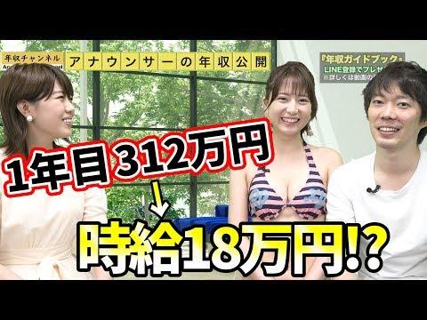 アナウンサーの年収を公開!(NHK)|vol.264