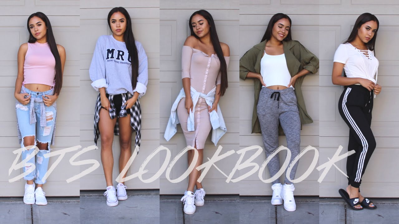 BACK TO SCHOOL OUTFIT IDEAS LOOKBOOK!