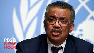 WATCH: WHO officials hold coronavirus news conference in Geneva