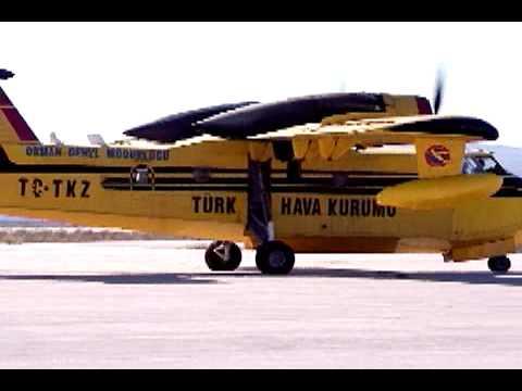Turkish Fire Fighting Planes Land In Ramat David Air Force Base