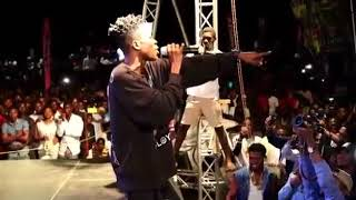 Strongman Performs At YFM Area Codes Jam