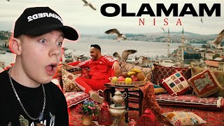 NEXT UP!!🇹🇷Nisa - Olamam (prod. by Kostas Karagiozidis) REACTION Resimi