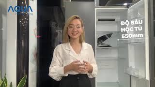 Điểm Nhấn Tủ Lạnh AQUA TWIN INVERTER AQR-S541XA
