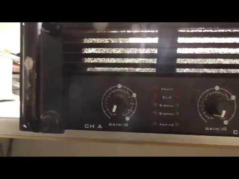 Was ist drin ?  The tAmp TA2400 Amplifier Verstärker Tear Down