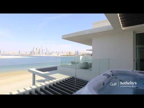 Luxury Modern Tip Villa in Palm Jumeirah, Dubai, United Arab Emirates