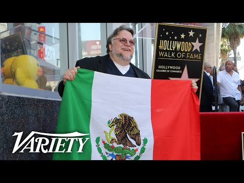 Guillermo del Toro Supports Immigrants During Hollywood Walk of Fame Ceremony