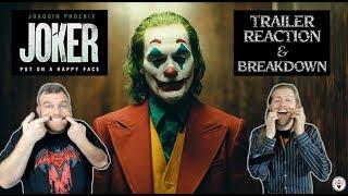 """""""Joker"""" 2019 Trailer #1 Reaction - The Horror Show"""
