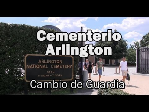 CAMBIO DE GUARDIA EN ARLINGTON - WASHINGTON(HD GoPro)