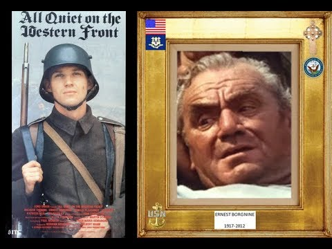 ERNEST BORGNINE 19172012 all quiet on the western front 1979