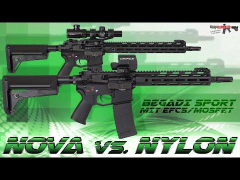 [Special] Begadi Sport NOVA vs. NYLON mit CORE EFCS/Mosfet - 6mm Airsoft/Softair Test (German,DE)