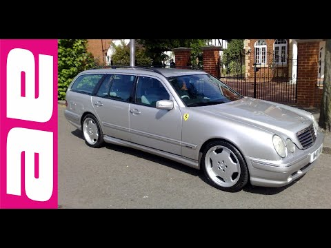 mercedes e55 amg estate w210 90 youtube. Black Bedroom Furniture Sets. Home Design Ideas