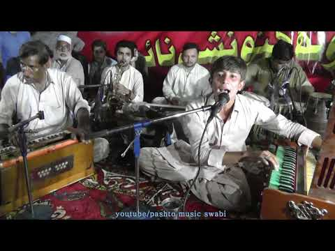 pa zaaro pa menatono Kashif Swabiwal pashto song,  PTI Music program at Swabi ground