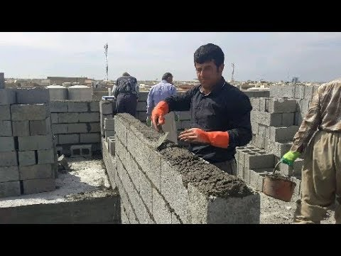 House Construction By Hand In Erbil Kurdistan