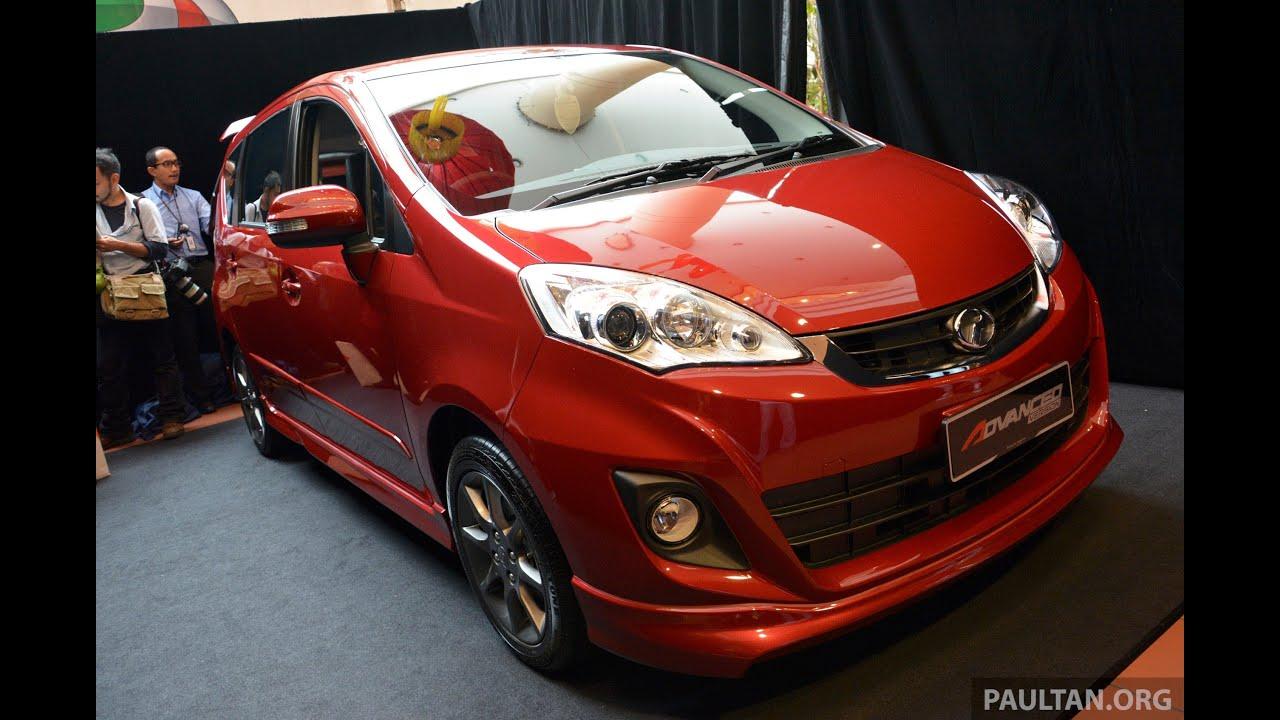 2014 Perodua Alza Facelift Walk-Around - paultan.org - YouTube