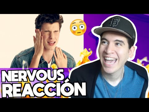 Shawn Mendes - Nervous | Video REACCIÓN
