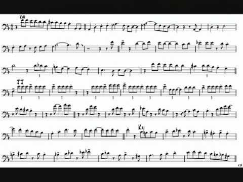 Jay & Kai 'Its Alright With Me' Trombone Solo Transcription