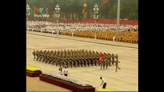 Vietnam Military parade 2010 in Hanoi