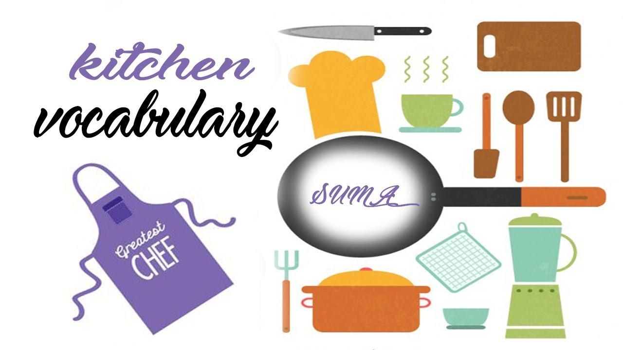 Kitchen Vocabulary | English Vocabulary | kids vocabulary | Toddler ...