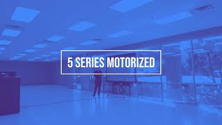 5 Series Motorized – Re-Inventing Tab-Tensioned Motorized Screens