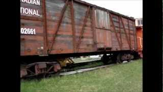 Canadian National Railway Cars National Train Day May 12th