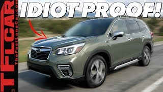 The New 2019 Subaru Forester: Lots of LOVE But No FUN!