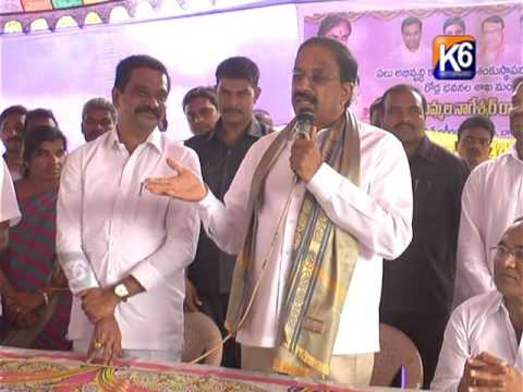 Kammarpalli , Bheemgal lo paryatinchina Mision Bhagiratha Vice Chairman Prashanth reddy