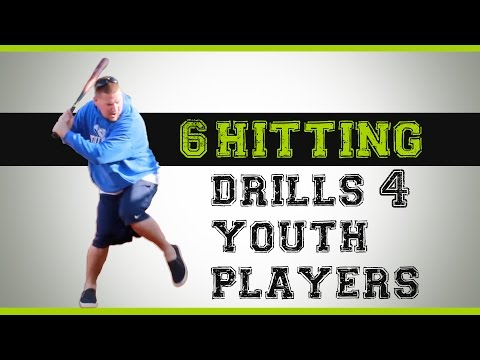 6 Baseball Hitting Drills for Youth Players