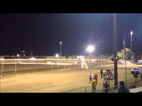 Imperial Valley Speedway Dwarf Trophy Dash 11-16-13