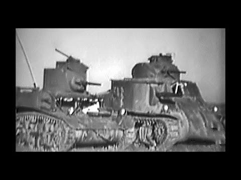 Operating American Light & Medium Tanks in World War 2 - 1943