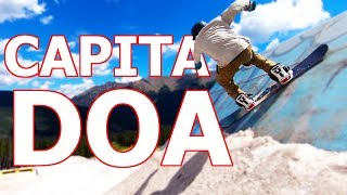 Capita Defenders of Awesome (DOA) Snowboard Review