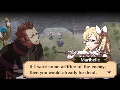 Fire Emblem Awakening - Maribelle & Brady The Future Past 2 Conversation