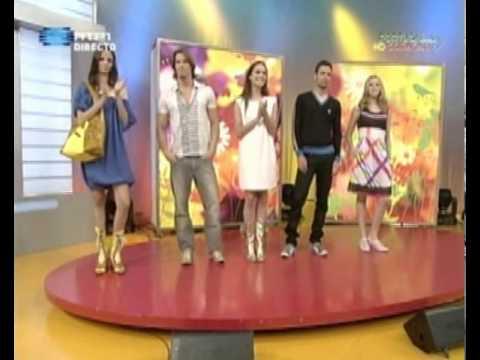"""Eject Shoes on TV Show """"Portugal no Coração"""""""