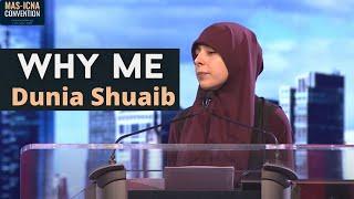 Why Me? Dunia Shuaib - MASCON 2018