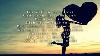 IN DEIN HERZ - DOUBLE M (LYRICS ON SCREEN)