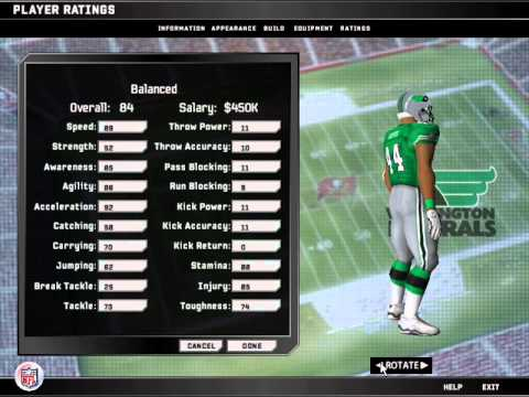 USFL uniform showcase. Madden NFL 08 PC 222e5f34a