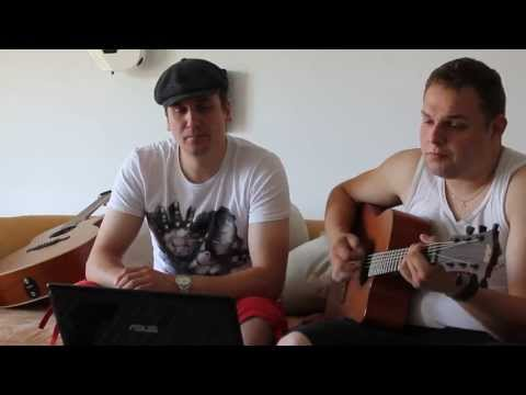 Hello - Lionel Richie ( cover by Tscho and Kobe )
