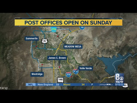 Post Offices Operating On Sundays To Ease Holiday Rush