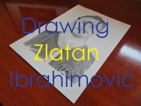 Drawing Zlatan Ibrahimović