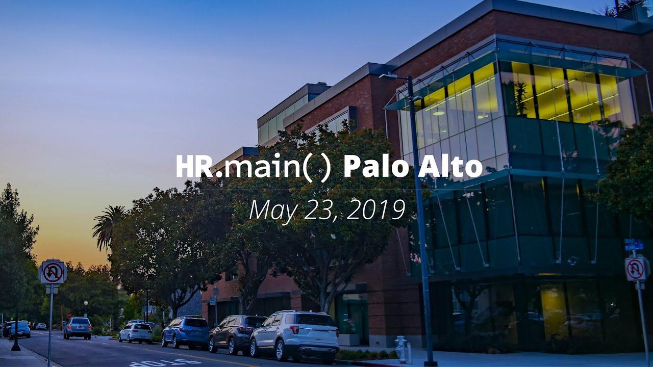 HR main() Palo Alto - Livestream Video
