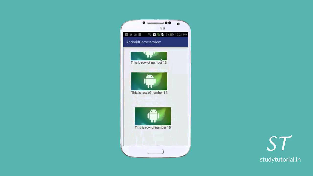 Android RecyclerView with Animation Tutorial | Study Tutorial