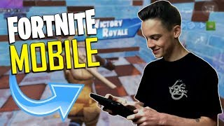 FAST MOBILE BUILDER on iOS / 1450+ Wins / Fortnite Mobile + Tips & Tricks!